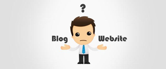 blog o website