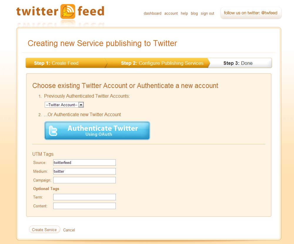 configurar twitterfeed paso 8