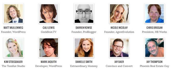 bloggers que usan genesis framework