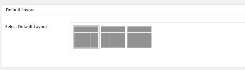 elegir el layout en genesis framework