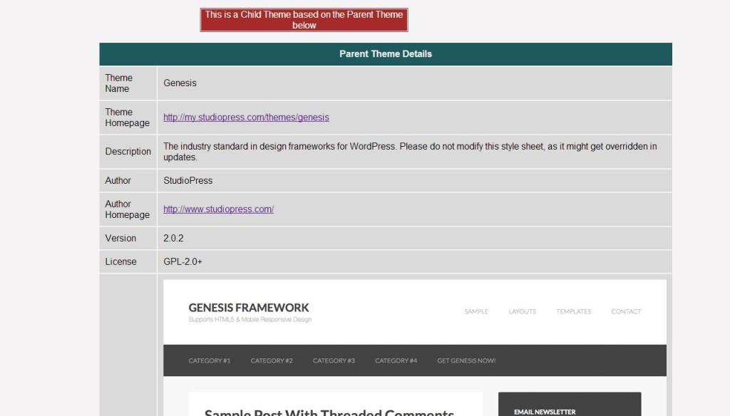 saber el tema y plugins de wordpress v3