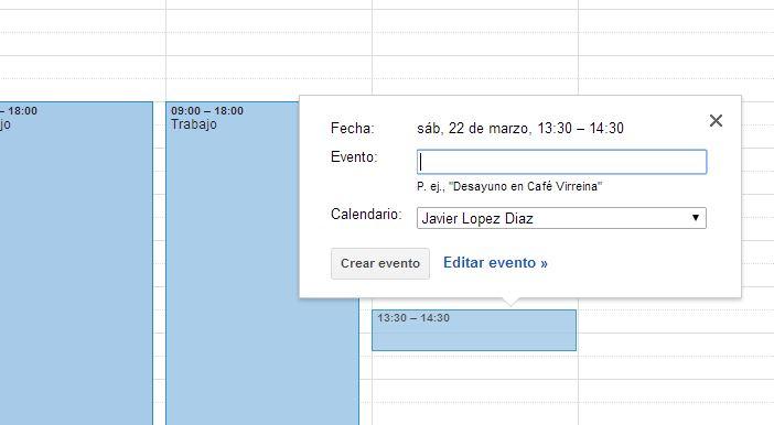 Google calendar v2