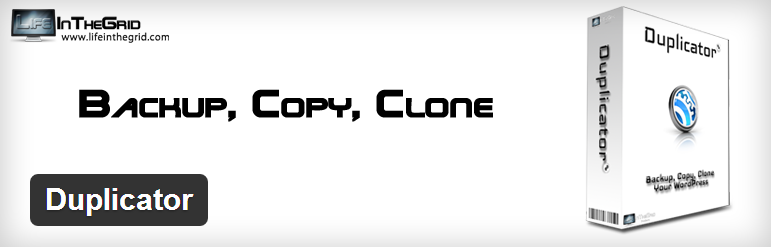 wordpress plugin duplicator