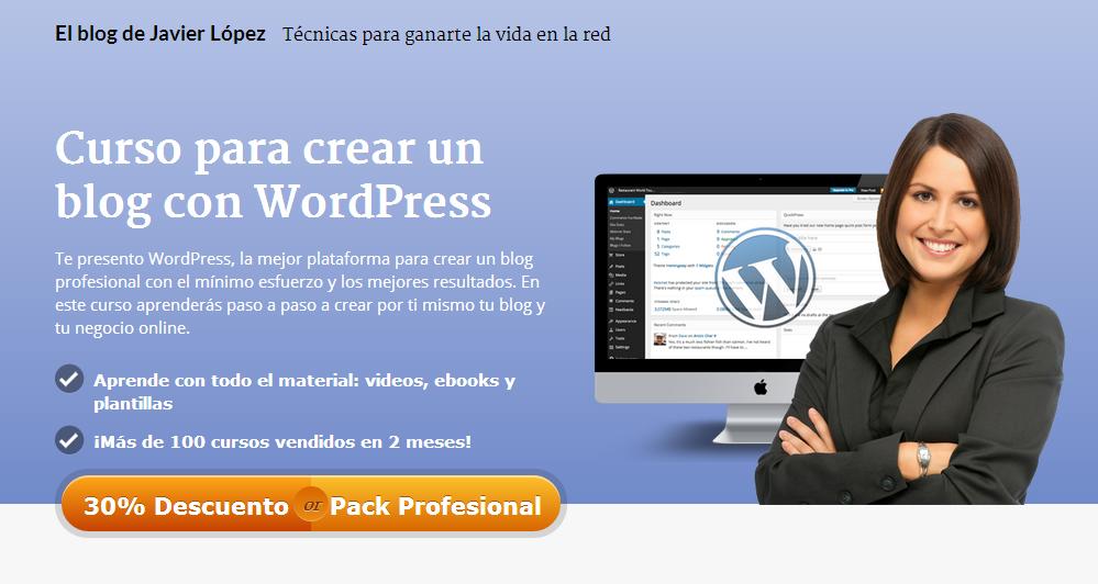 nuevo curso de wordpress profesional