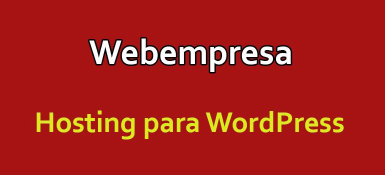 hosting para wordpress