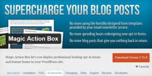 Magic Action Box: Lo mejor de lo mejor para conseguir más suscriptores y ventas en tu sitio web