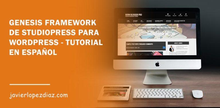 genesis framework para wordpress
